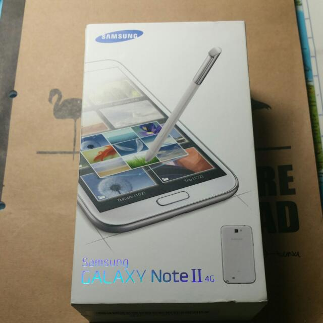Galaxy Note 2 Box