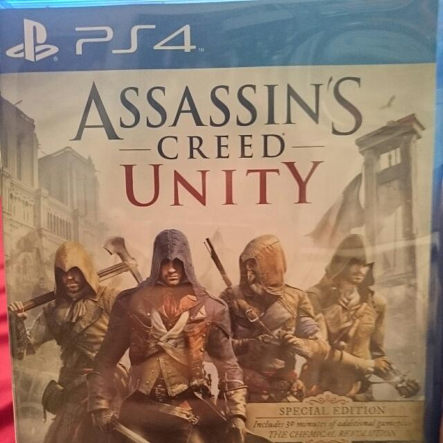 PS4 Assassin Creed Unity, WTS WTT