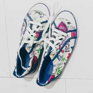 Coach Quirky Bold Blue Sneakers Shoes