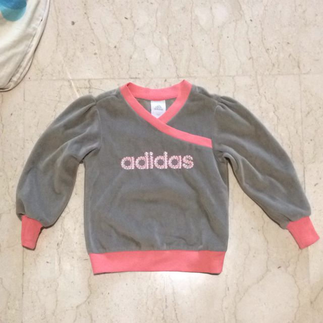 reputable site best place closer at Adidas Girl Sweater Pull Over, Babies & Kids on Carousell
