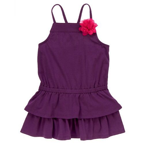 BN Size 3T Crazy 8 Tiered Ruffle Dress For Kid Girl - Pkcrazy8 Pkgirl