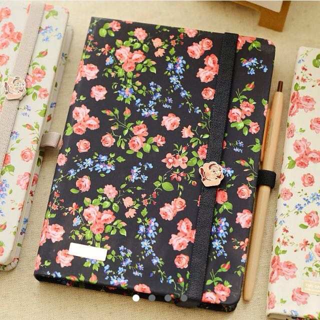 Floral Prints Notebook