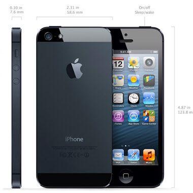 IPhone 5 Black Unlocked 16 GB