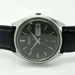 Seiko 5 Vintage Black Dial Watch