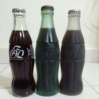 Coca-cola bottles (Frosted)