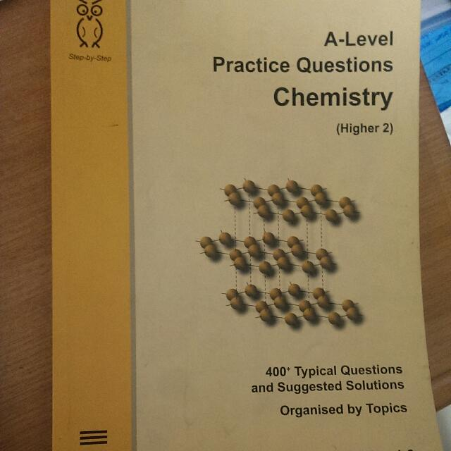 A Level Chemistry Practical Questions