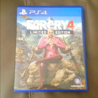 (Reserved) Sony Playstation 4 (PS4) Game: Farcry 4