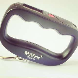 $10 Free Delivery - Portable Luggage Weigh Scale Digital (50kg) Free Shipping within Singapore