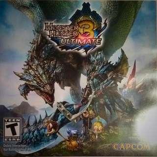 Pokemon X And Monster Hunter 3 Ultimate