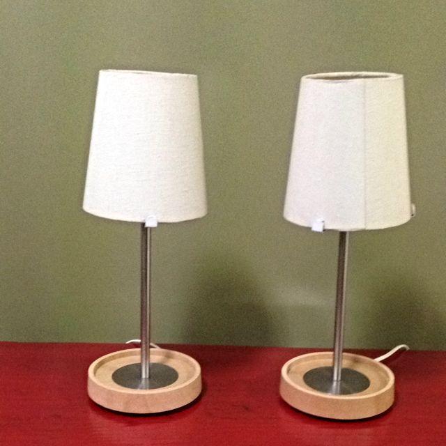 Bedside Lamps (Ikea)