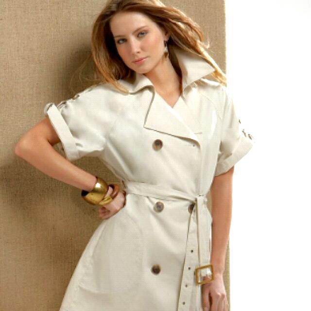 Cream Collared Dress