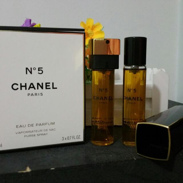 cfaacbc8d36 Chanel No 5 Eau De Parfum Purse Spray - Best Purse Image Ccdbb.Org