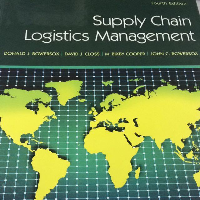 Supply Chain Logistics Management Books Stationery Textbooks On