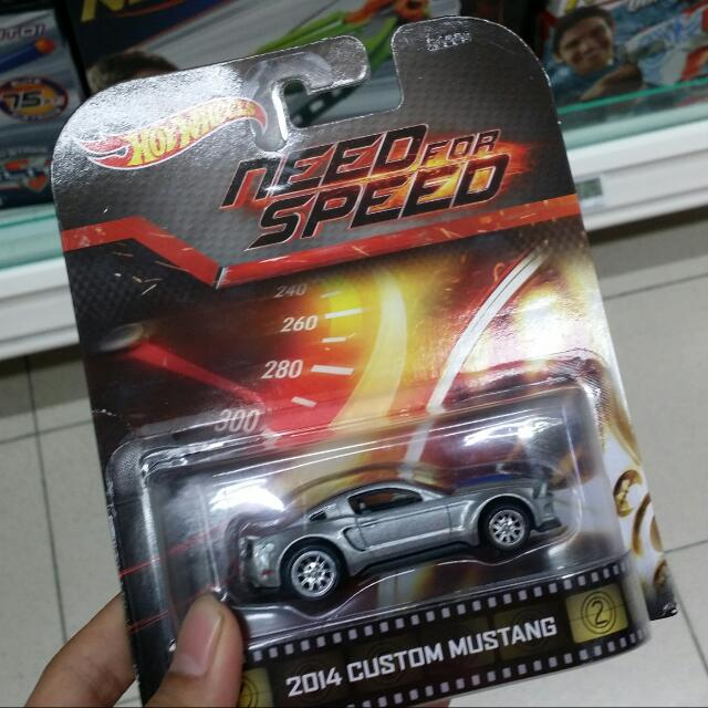 Hotwheels Need For Speed Ford Mustang 2014 Rare Toys Games On Carousell