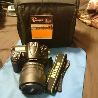 Nikon D7000 With 18-105mm Lens