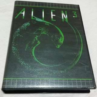 alien 3 sega mega drive gaming cartridge