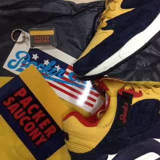 Saucony X Packer Shoes (Snow Beach)
