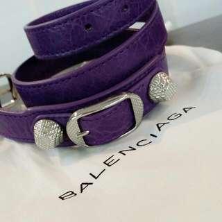 BN Balenciaga Triple Tour Bracelet.