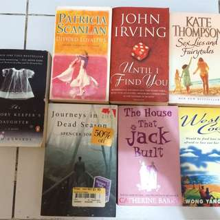 Novels And Books (Assorted)