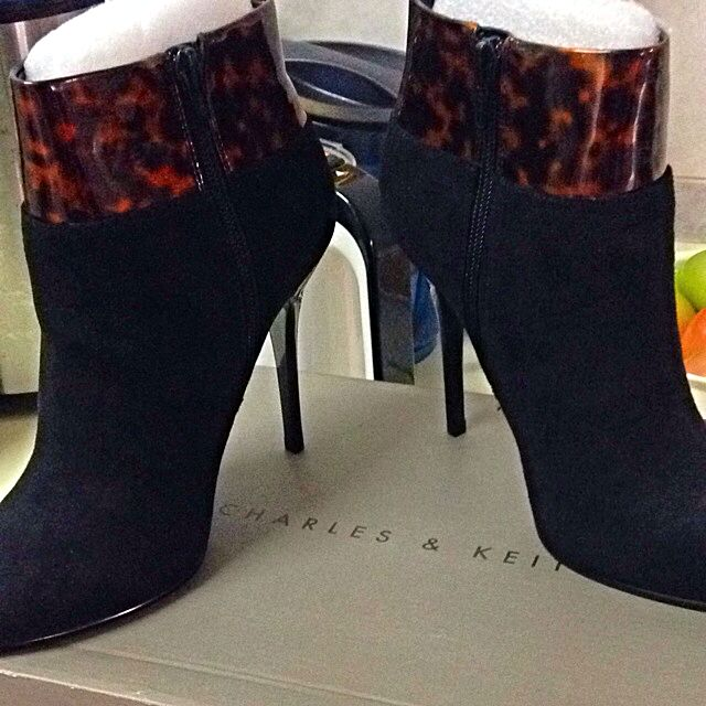 Charles & Keith Ankle Boots