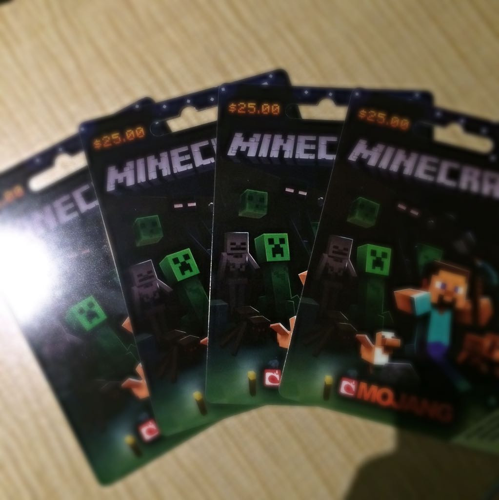 minecraft gift card minecraft card game toys us 1839
