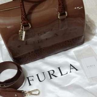 SALE!! Furla Jelly & Leather