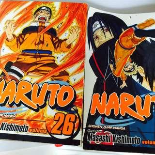 Naruto Manga (English, Viz Media)
