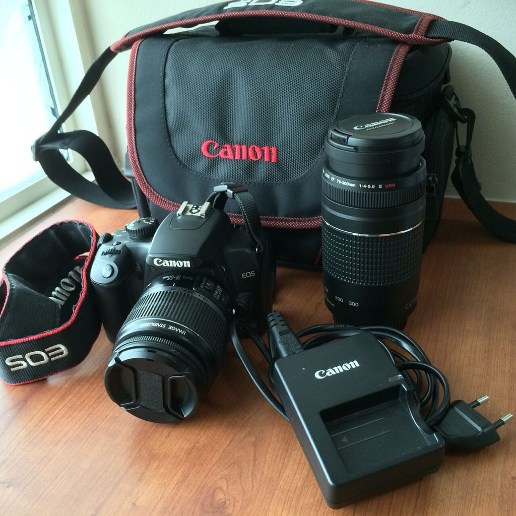 Canon 1000D + Extra ZOOM LENS, Photography on Carousell