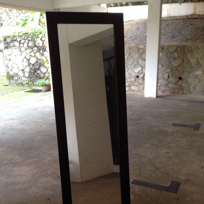 Free Standing Mirror - Wooden Frame