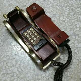 Vintage Car Fixed Line Phone