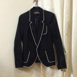 Zara blazer in black