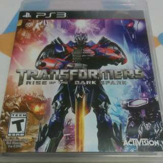 Transformers (Rise Of The Dark Spark)