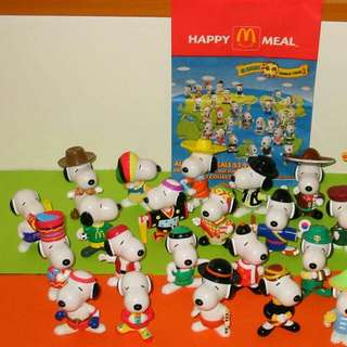 Snoopy Collection World Tour 2 MINT