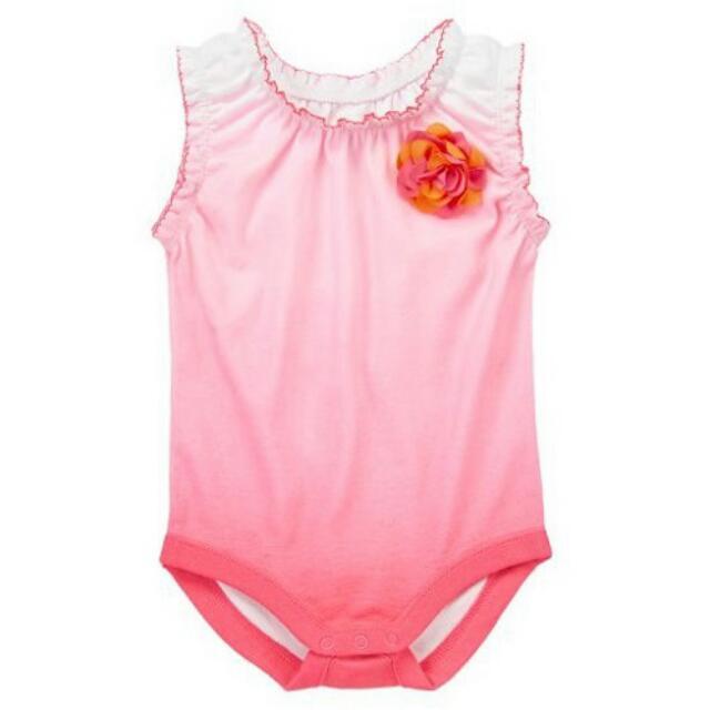 BN Size 0-3m Gymboree Ombre Corsage Bodysuit For Baby Girl - Pkgymboree Pkgirl