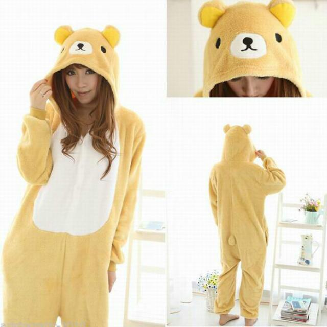 755f44d54da3 BRAND NEW IN STOCK  Rilakkuma Bear Onesie   Pyjamas (Unisex ...