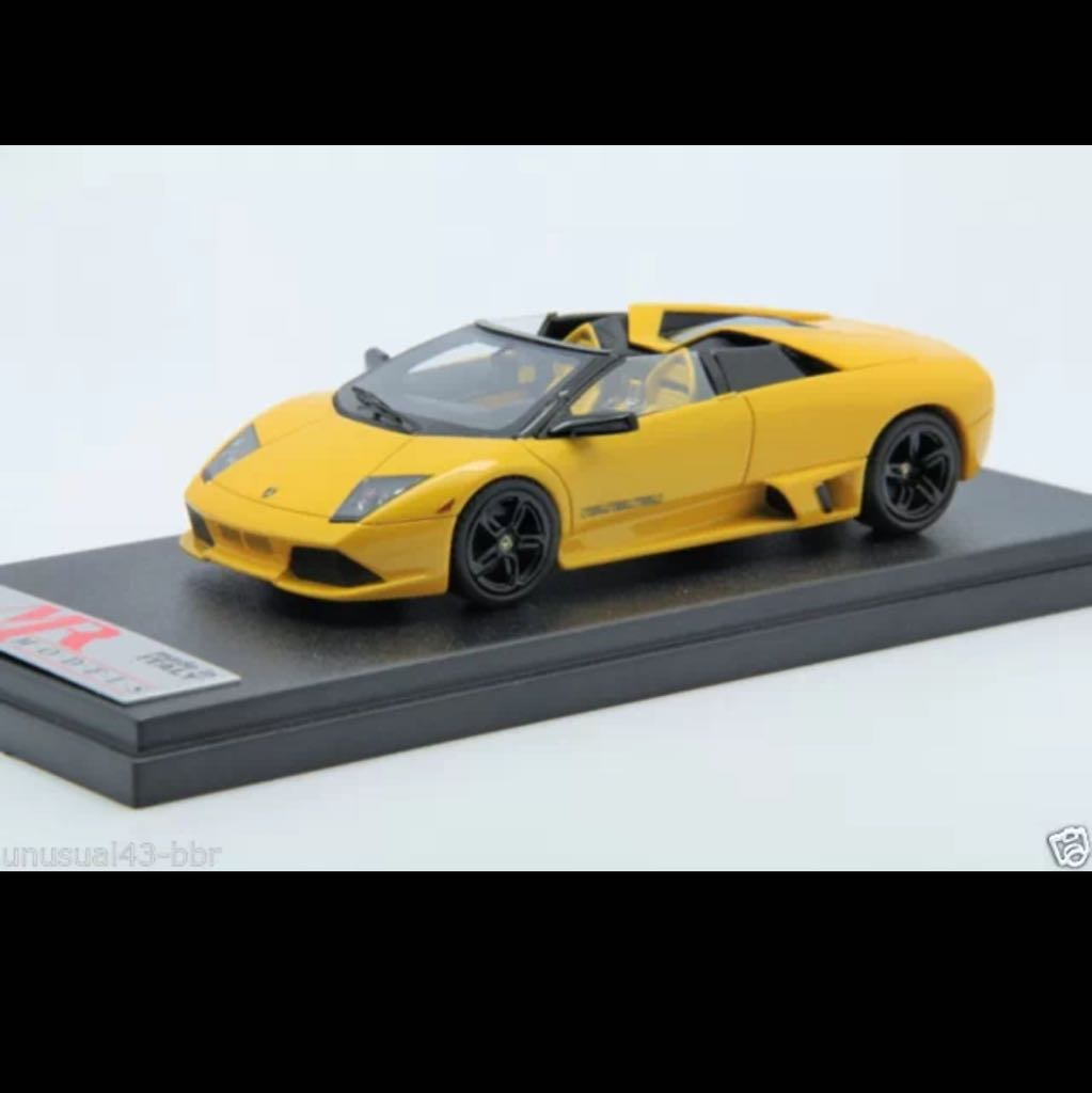 Mr 1 43 Lamborghini Murcielago Lp640 Roadster Versace Edition In Met