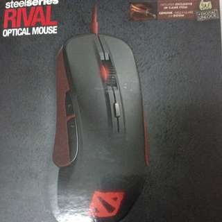 [Updated]Steelseries Rival Optical Gaming Mouse Dota2 Limited Edition
