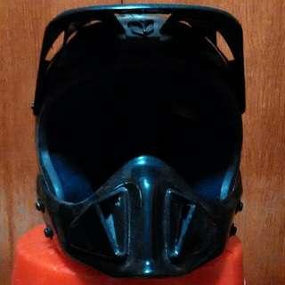 Used Offroad/Scrambler Fullface Helmet