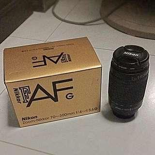 Nikon Zoom - Nikkor 70~300mm f /4 ~ f / 5.6G Lens