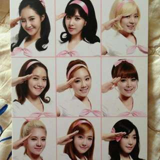 Girls Generation Girls & Peace Tour In Seoul Photocard