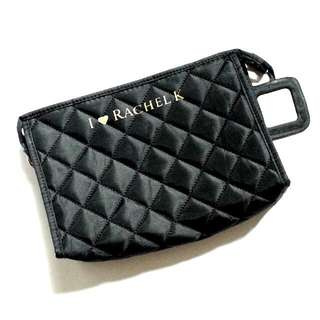 I ♥ Rachel K Quilted Cosmetics Pouch