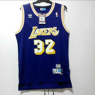 NBA REV30 MAGIC JOHNSON THROWBACK JERSEY LA LAKERS