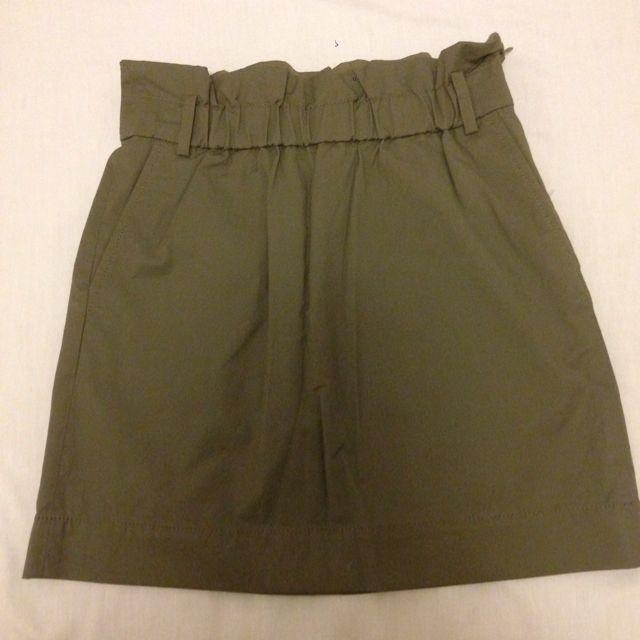 Banana Republic Army Green Skirt