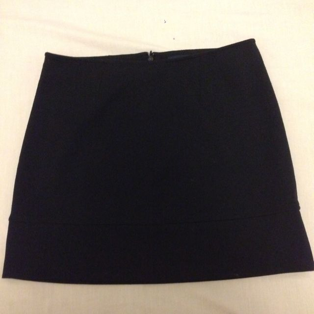Banana Republic Black Mini Skirt