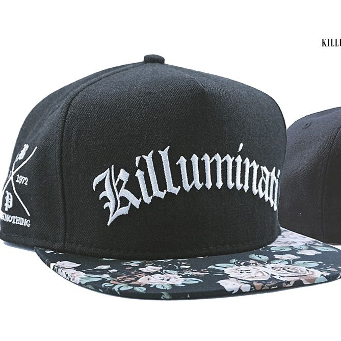 BITCHPLEASE Killuminati Snap-back Brand New