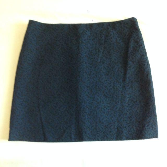 Club Monaco Navy Mini Skirt