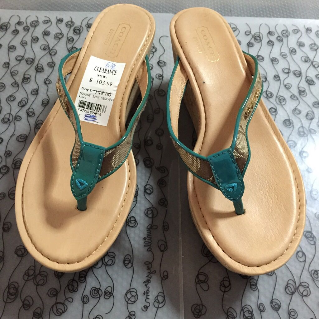 Clearance Sale: 100% Authentic Coach Wedge