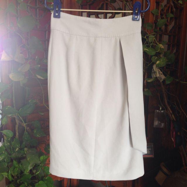 Zara Grey Formal Skirt