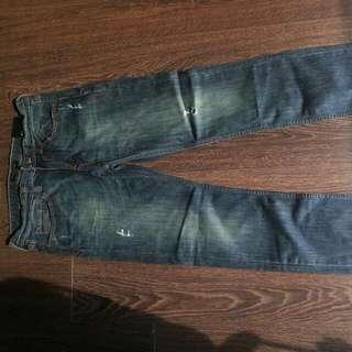 Banana Republic Slim Straight Jeans 31x30