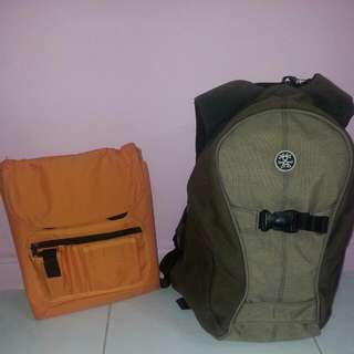 Used Crumpler Bag - The Keystone (Beige Color)